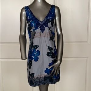 Free People 100% Indian Cotton Embroidered Dress